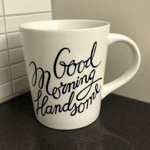 🌟2/$20 EUC Good Morning Handsome mug
